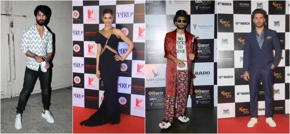 Shahid Kapoor, Deepika Padukone, Ranveer Singh, Fawad Khan