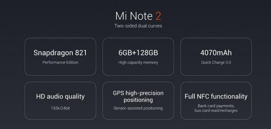 Xiaomi Mi Note 2 live update
