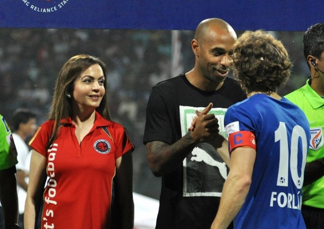 Thierry Henry Forlan ISL