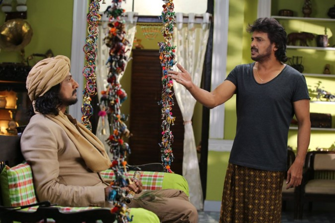 Sudeep with Upendra