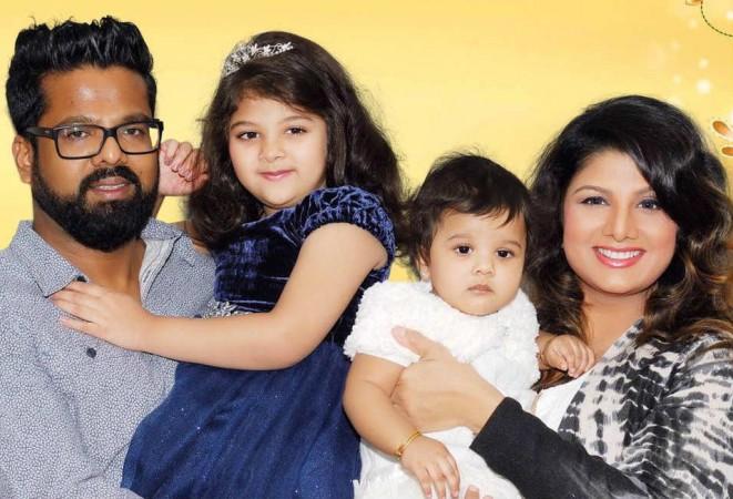 Rambha's family