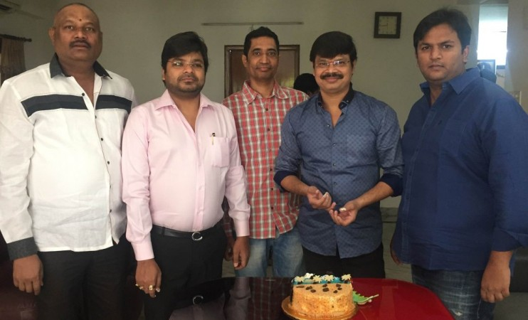Abhishek Nama with Boyapati Srinu and Bellamkonda Suresh