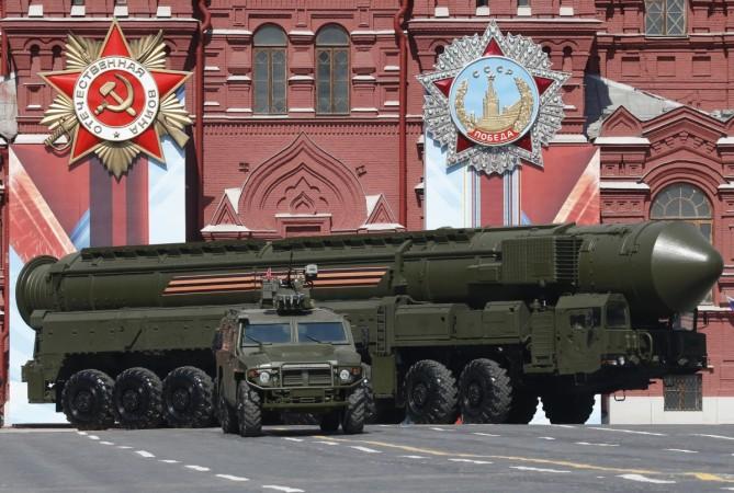 Super Nuke Sarmat missile