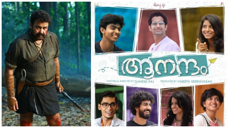 Aanandam overtakes Pulimurgan at Kochi multiplexes