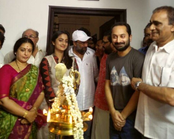 Fahadh Faasil and Namitha Pramod's Role Models puja ceremony