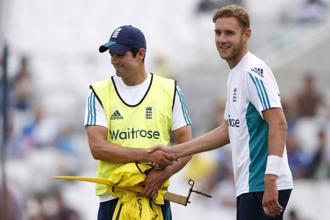 Alastair Cook, Stuart Broad