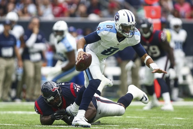 Marcus Mariota Tennessee Titans Houston Texans