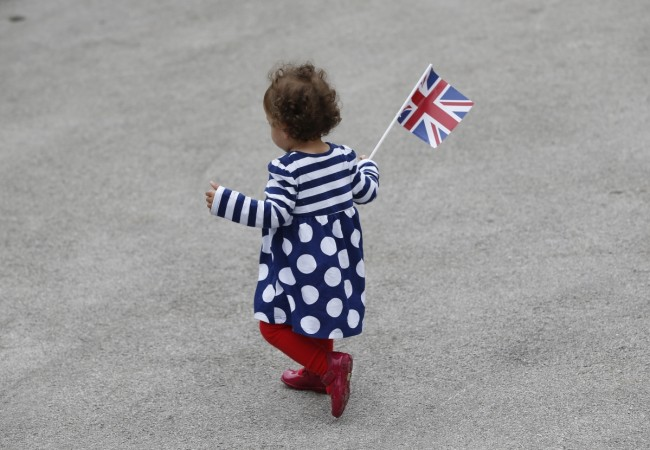 British kid