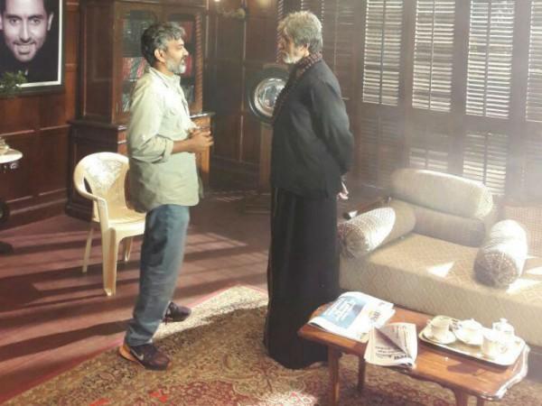 SS Rajamouli and Amitabh Bachchan