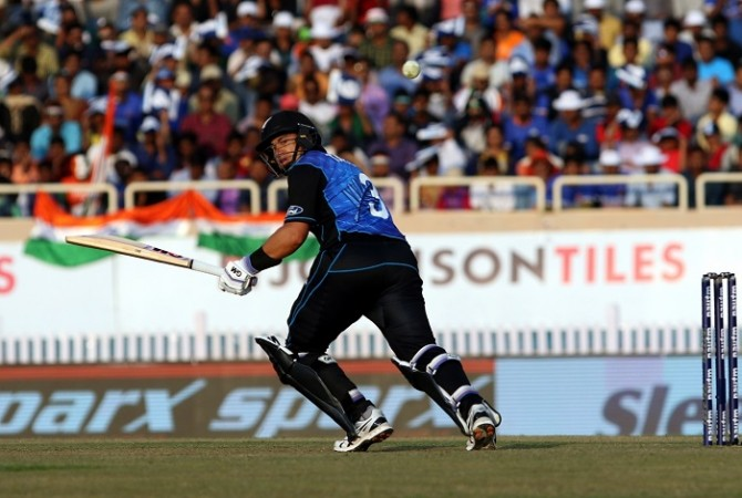 Ross Taylor New Zealand India