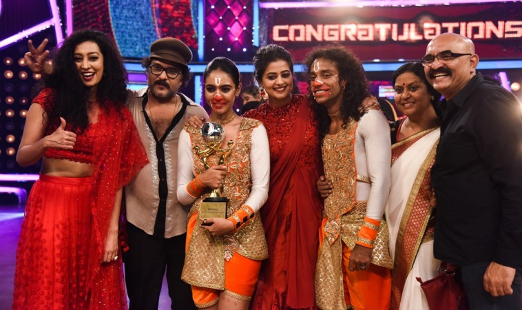 Dancing Star 3 Winners with judges Ravichandran, Priyamani and Mayuri Upadhyaya