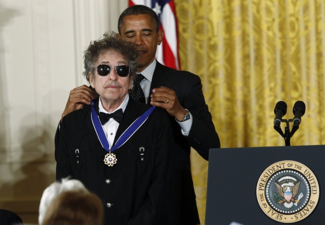 Bob Dylan accepts Nobel Prize for Literature; ends his ...