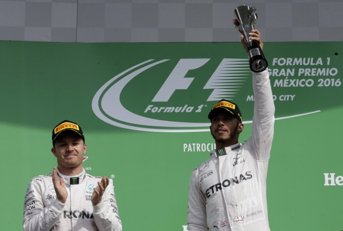 Nico Rosberg Lewis Hamilton