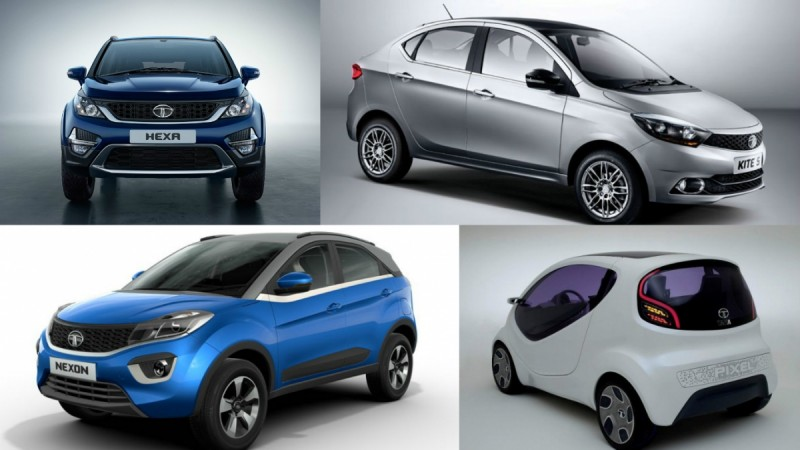 Upcoming Tata Motors vehicles