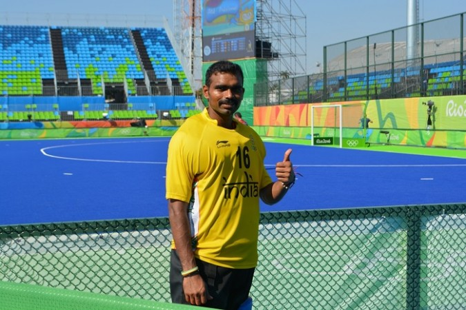 PR Sreejesh India hockey