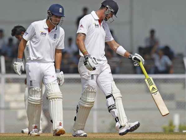 Alastair Cook Kevin Pietersen England