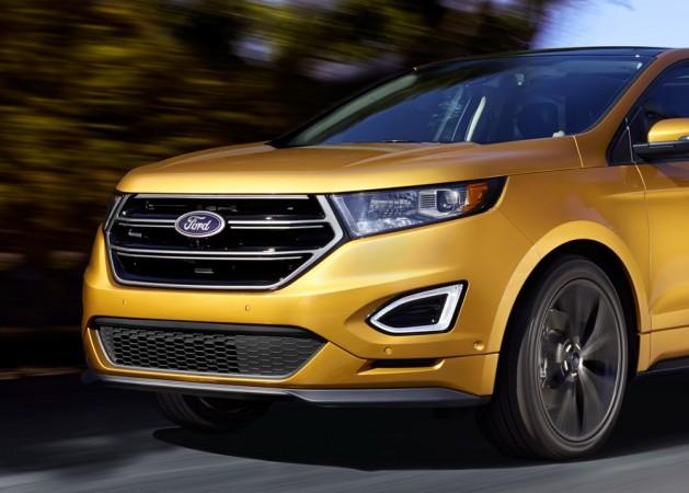 2017 Ford Ecosport Facelift To Get A Design Blend Of Kuga
