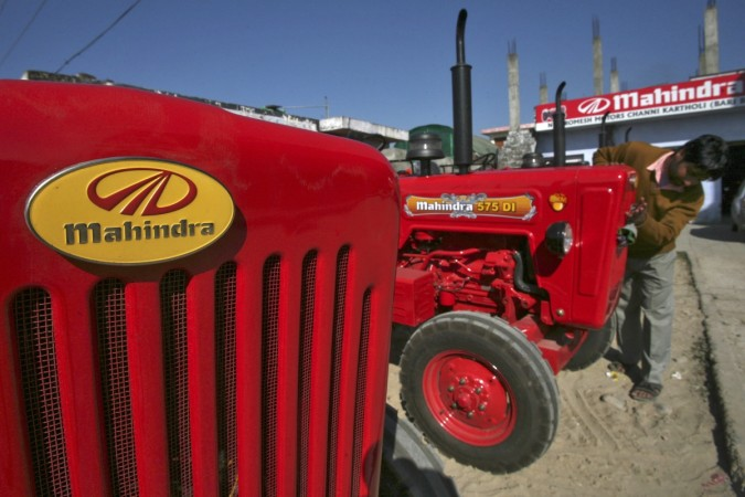 mahindra tractors sales tractor monsoon agriculture farming kharif crop rabi exports india cars domestic sales share price suv uv diesel petrol