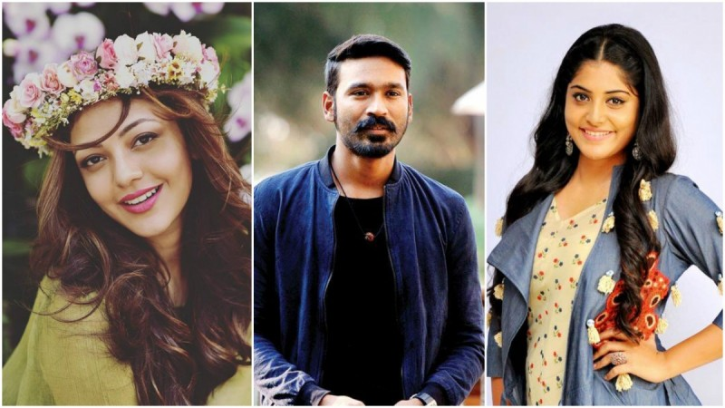 Kajal Aggarwal and Manjima Mohan in Dhanush's next?