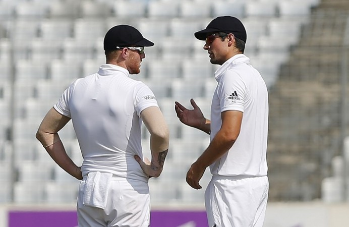 Alastair Cook Ben Stokes England