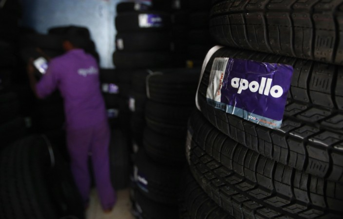 tyre companies apollo tyres ceat mrf jk tyre q2 results share price india sensex gainer bse nse imports cheap china chinese michelin radial truck bus tbr