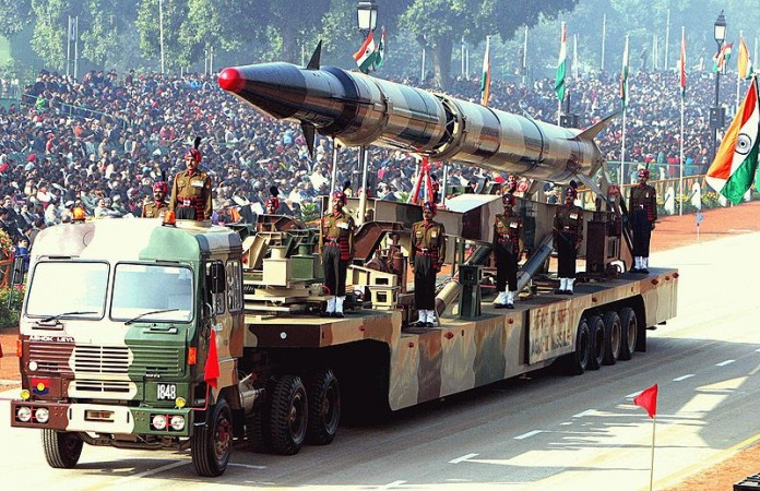 India Test Fires Nuclear-Capable Agni-II Missile