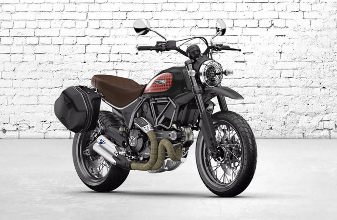 ducati scrambler cafe racer, desert sled to be unveiled on