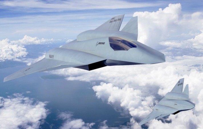 Boeing's new fighter concept