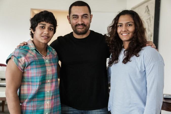 Babita Kumari, Aamir Khan and Geeta Phogat
