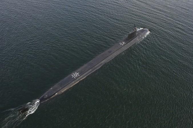 US Navy Virginia class attack submarine