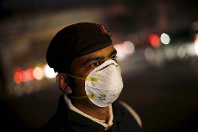 Delhi smog masks