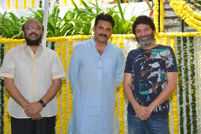 Pawan Kalyan and Trivikram Srinivas' next movie launch