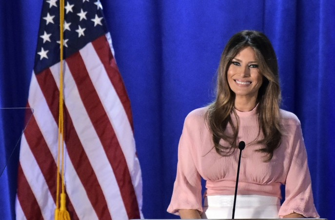 Melania Trump vows to fight cyber-bullying if she becomes First Lady