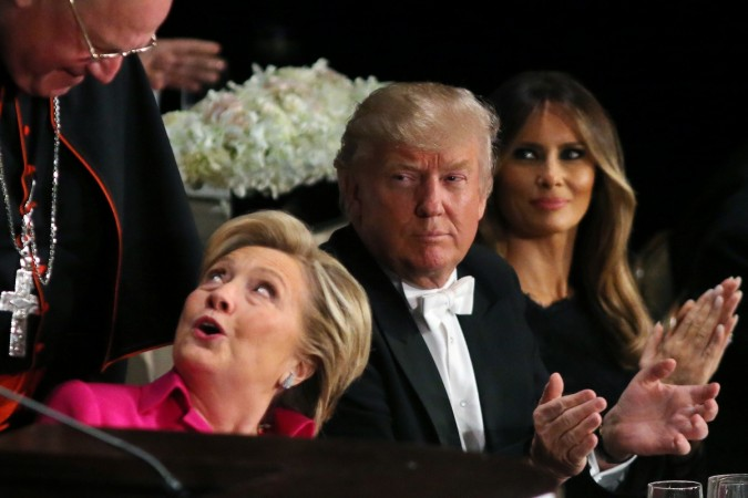 us elections donald trump hillary clinton elections america presidential stock markets global sell-off india sensex nifty stock markets asian equities