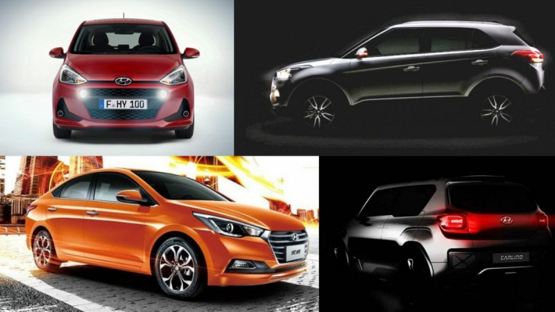 upcoming Hyundai cars