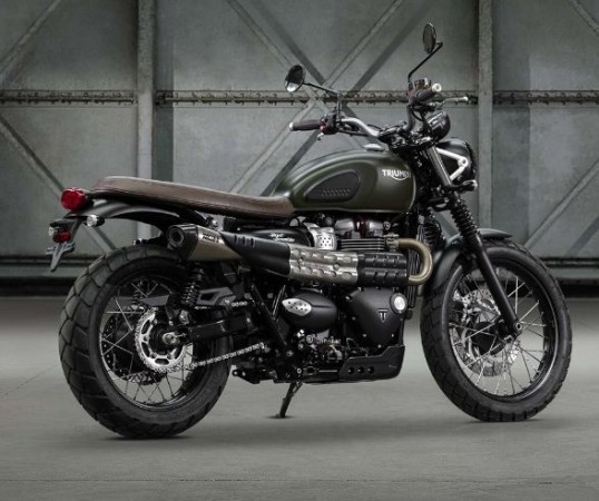 Triumph's new Street Scrambler makes debut