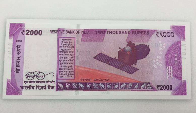 New Rs 2,000 note