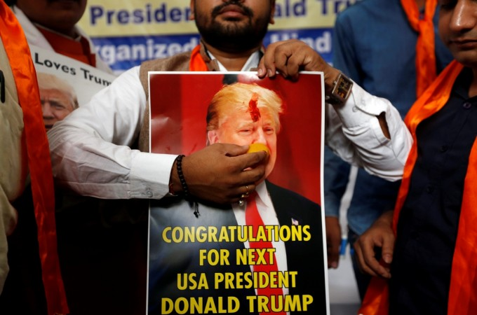 Trump is considered a pro-India President