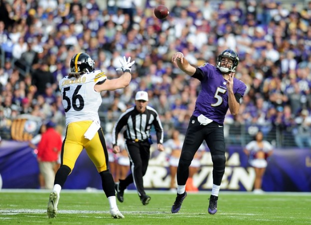 Baltimore Ravens keep Cleveland Browns winless with rout