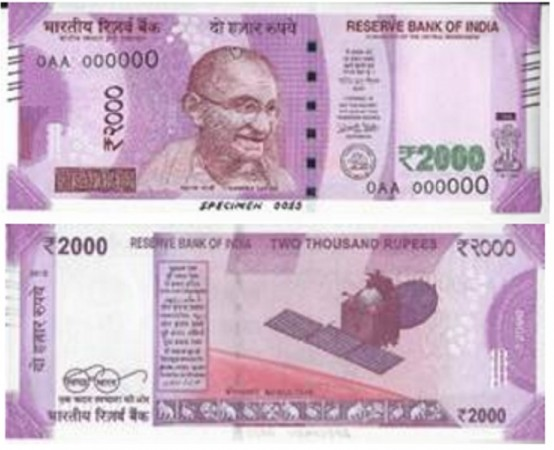 'New Rs 2000 note to come with nano GPS tracker' goes viral on WhatsApp: RBI clears the air