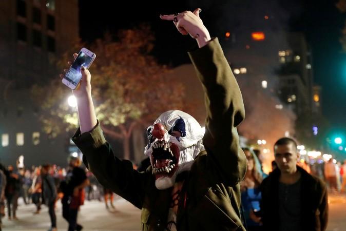 Anti-Trump protests erupt across America