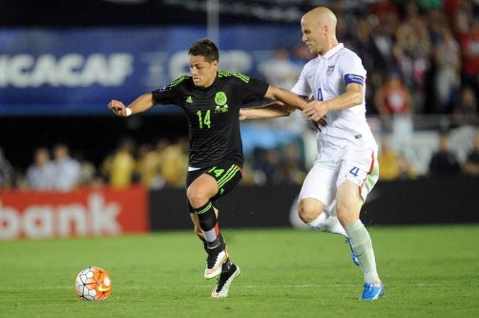 Javier Hernandez Michael Bradley Mexico USA
