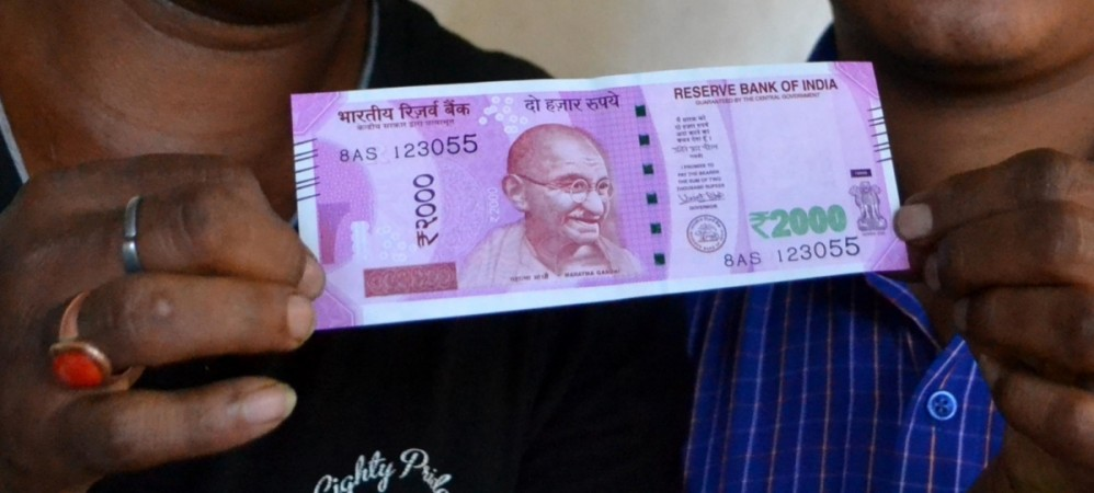New Rs 2,000 currency of India