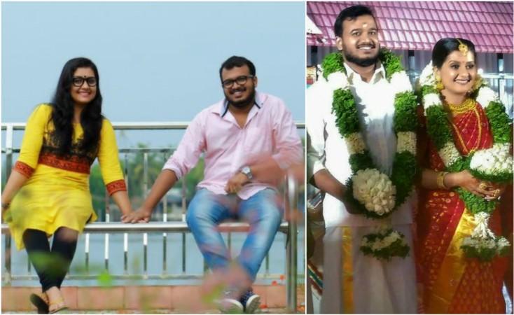 Sarayu Mohan weds Sanal V Devan