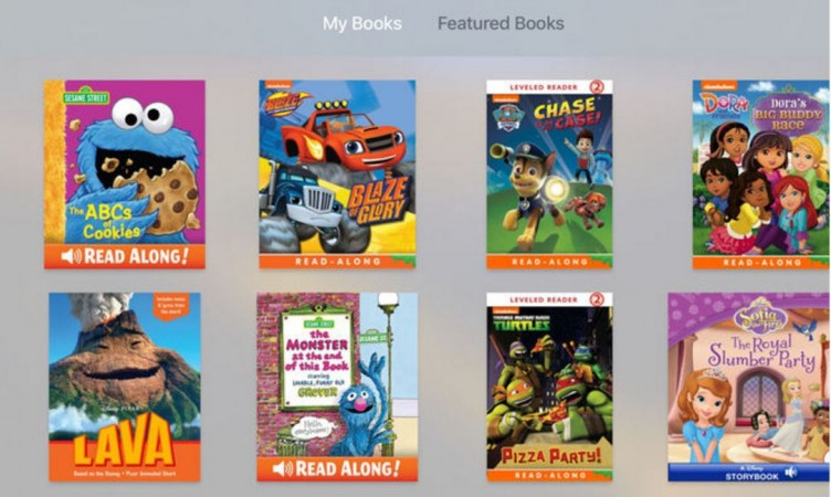 Apple TV: New iBooks StoryTime app released for kids