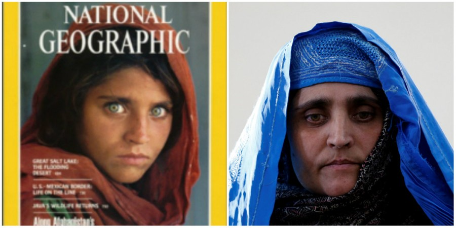 Afghan girl Sharbat Gula