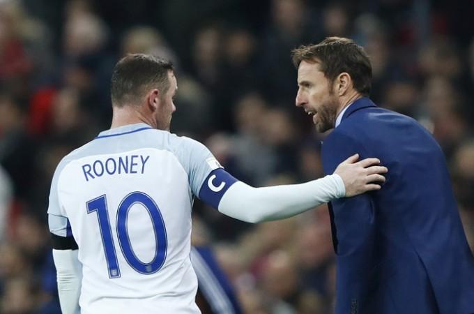 Wayne Rooney Gareth Southgate England