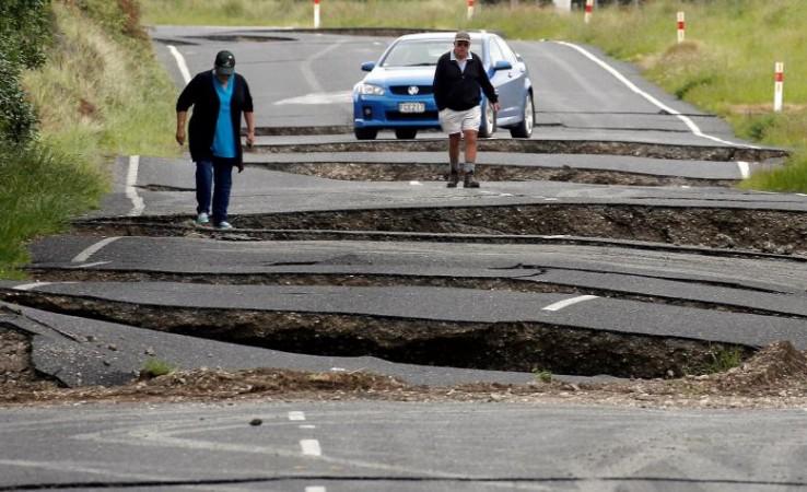 New Zealand quake