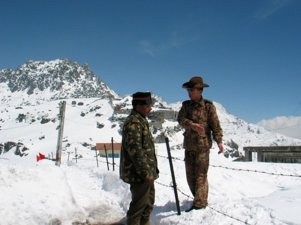 India, China joint military exercises