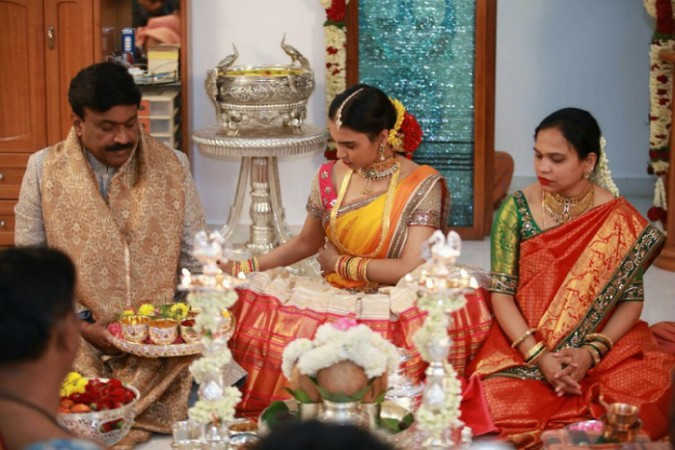 Janardhan Reddy's daughter wedding